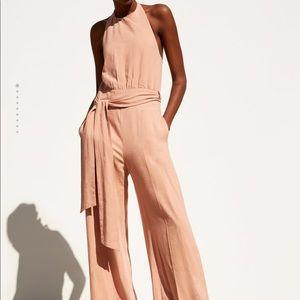 Zara long rustic  jumpsuit
